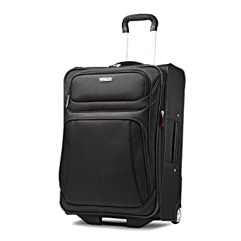 Samsonite Luggage Aspire Sport 新秀丽 25英寸 拉杆行李箱 黑色 $72.79