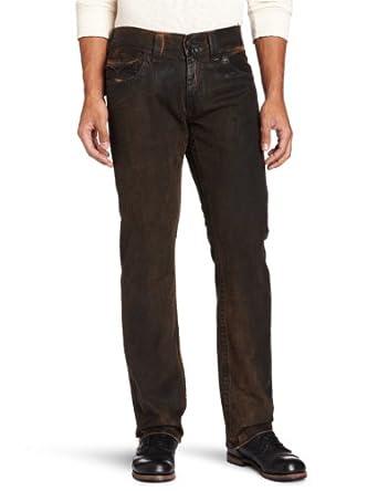 True Religion Men's Ricky Overdye Jean, Black Vintage, 29