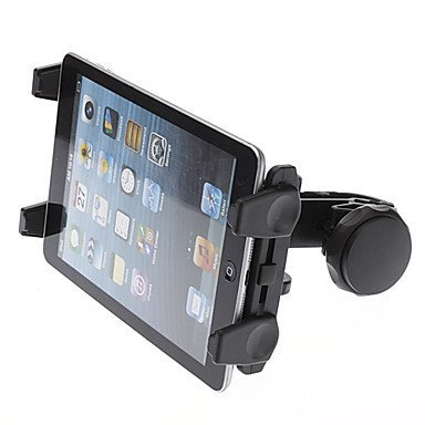 Hello2C Car Headrest Mount Holder for GPS Tablet Pc Ipad Mini Ipad 4 / Ipad 3 / Ipad 2 Galaxy Tab Note Ebook Reader Asus, Samsung, Lenovo, Dell, Acer, HP, LG, Toshiba, Google Nexus, Archos Tablets Black