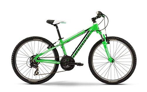 """Rookie 4.10 24"""" 21-G TX35 16 Haibike grün/schwarz/weiß Rh 32"""