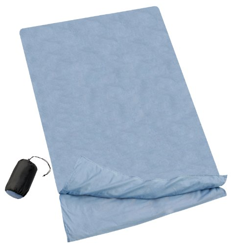 Lichfield Sleeping Bag Liner Double Cotton - Blue