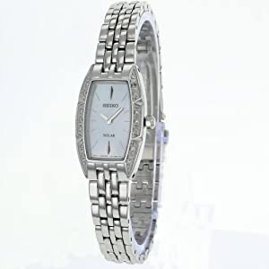 SEIKO LADIES SOLAR DIAMOND WATCH