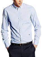 Trussardi Jeans Camisa Hombre (Azul Celeste)