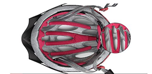 Mountain road bike riding helmet integrally molded lightweight breathable helmet