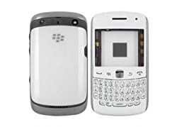 Replacement Faceplate White Housing Body Panel for BlackBerry Curve 9360 3G