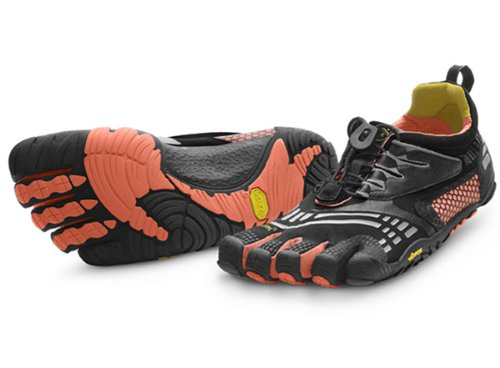 Vibram FiveFingers Komodosport LS Womens Athletic Shoes 39 Black/Coral