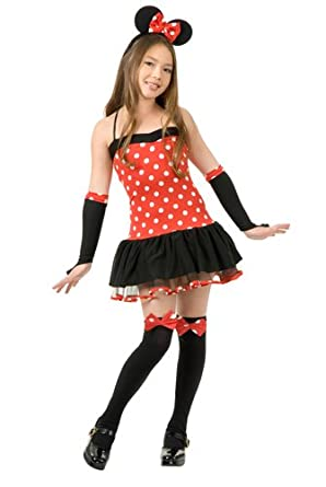 Amazon.com: Miss Mouse Costume - Small: Toys & Games