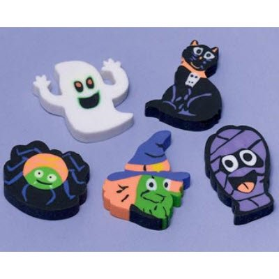 Amscan Child's Halloween Eraser Favors Assortment - 1