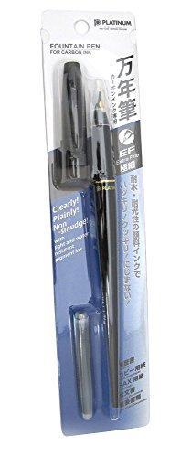 Platinum Carbon Desk Fountain Pen, Super Fine (DP-800S#1) [+Peso($56.00 c/100gr)] (US.AZ.8.2-0-B006CQT87W.5259)
