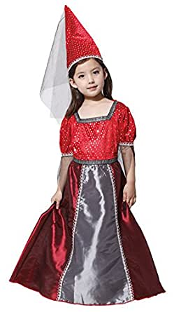 Halloween Costumes Elves Princess Skirt Performance Clothing Sequins Dress Girl