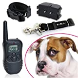 KitMaster� Boxed 4 in 1 Remote Control LCD Display Dog Training or Anti Bark Collarby KitMaster