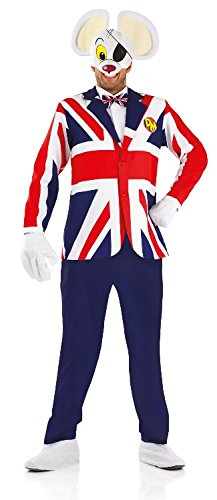 Dangermouse Great British Male Fancy Dress Costume - M (UK 38-40)