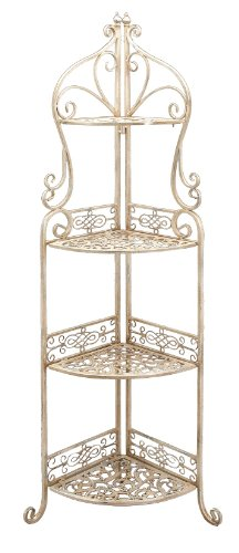 UMA Enterprises 65758 Metal 4-Tier Corner Rack,