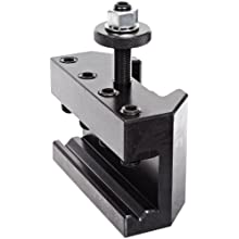"Dorian Tool QITPN-2 Chromium Molybdenum Alloy Steel Quick Change Turning, Facing and Boring Toolholder for QITP35N Quadra Indexing Quick Change Tool Post, 3/4""-1"" Tool Capacity, 3-3/4"" Width, 1-47/64"" Height"