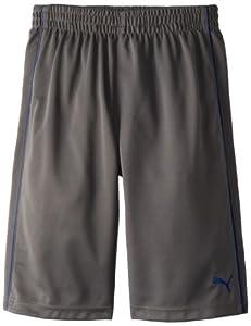 PUMA - Kids Boys 8-20 Piped Short, Quiet Shade, Medium