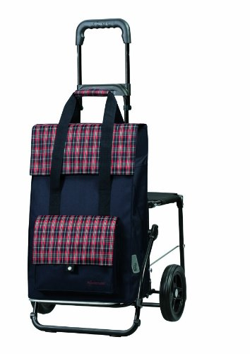 Komfort Shopper Fee blau
