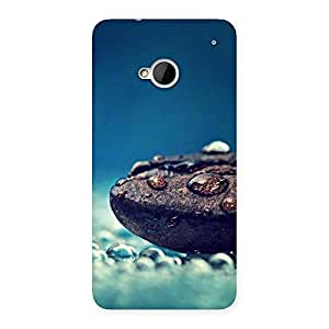Pebbels Chocolate Drops. Back Case Cover for HTC One M7