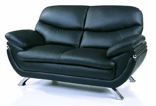 Jonus Leather Loveseat front-777679