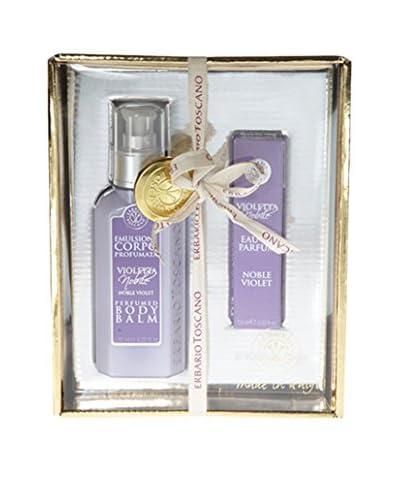 Erbario Toscano Noble Violet 2-Piece Eau de Parfum & Body Balm Gift Set