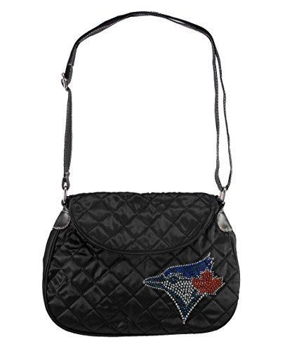 mlb-toronto-blue-jays-sport-noir-quilted-saddlebag-black-by-littlearth