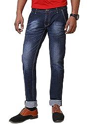 JCTex Men's Denim Stretchable Jeans (real jean 36_36_Blue)