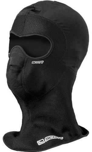Scott Wind Warrior Hood face mask per moto/bici/viso maschera da sci colore Nero