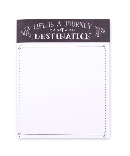 Eccolo World Traveler Chalkboard Stationery Collection, Writing Tablet (Qc901)
