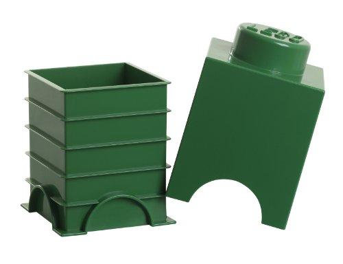 Lego Storage Brick 1 Green