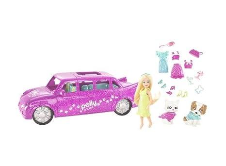 Mattel - M8313 - Polly Pocket - Accessoires Poupée - Limousine Polly Animaux