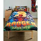 Kids/Childrens Power Rangers Jungle Fury Bedding Duvet/Quilt Cover Set