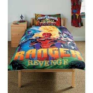 Power Rangers Megaforce Bed Set