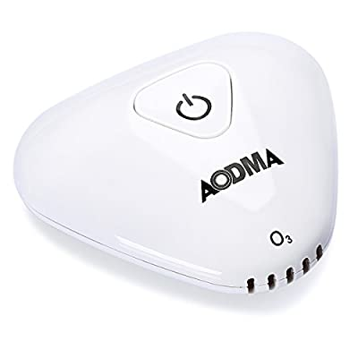 AODMA Mini Ozone Anion Air Purifier Deodorizer