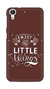 AMEZ enjoy the little things 2 Back Cover For HTC Desire 626 LTE