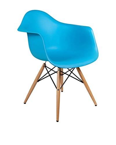 Lo+deModa Set Silla 2 Unidades Dimero Color Edition Azul Claro