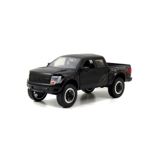 Jada 2011 Ford F150 SVT Raptor Pickup Truck 1/24 Diecast Model Car Matte Black (Diecast Car Models compare prices)