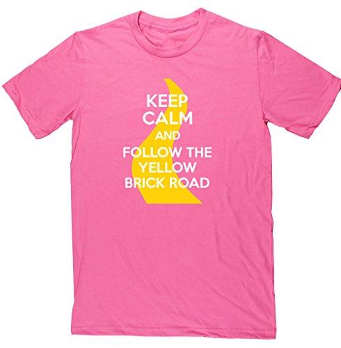 HippoWarehouse -  T-shirt - Uomo Pink Medium