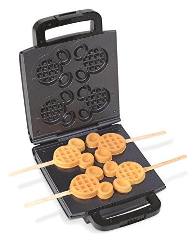 Disney 4 Mickey Waffle Stick Maker Home Garden Kitchen