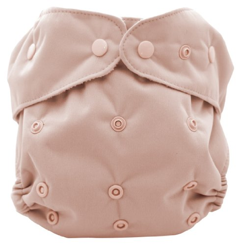 Kissa'S One Size All-In-One Diaper, Rose Dust front-987536