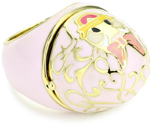 Disney Couture Pink Daisy Ring, Size 7