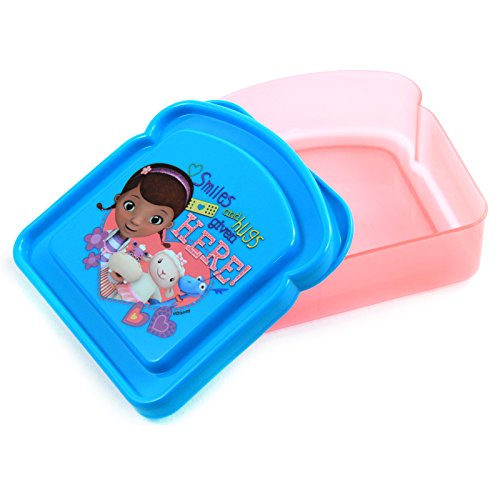 Disney Doc McStuffin Bread Sandwich Container - 1