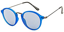 Rafa Round Sunglasses (Blue) (7059BLUEGUNGREY)