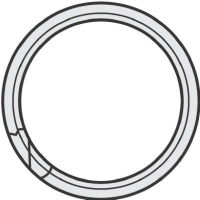 Ring Key Split 1/2