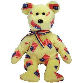 TY Beanie Baby - NEGARAKU the Bear (Malaysia Exclusive)