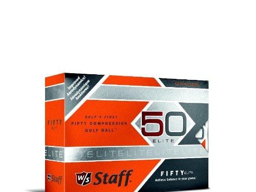 Wilson-Staff-Fifty-Elite-Golf-Balls-Pack-of-12