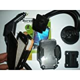 iPHONE 3G - Chargeur Auto + Support + film + Housse Cuirpar A-D