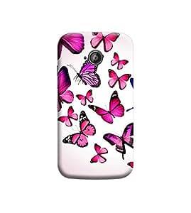 Ebby Premium Printed Back Case Cover With Full protection For Motorola Moto E (2nd gen) (Designer Case)