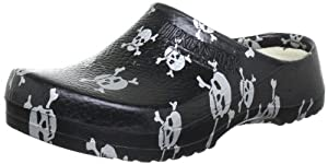 Birki Super-Birki, Unisex-Erwachsene Clogs, Schwarz (Black Skull), 37 EU (4.5 Erwachsene UK)