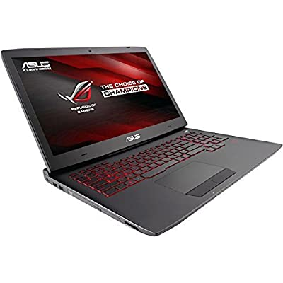 ASUS ROG G751JT-WH71(WX) 17-Inch Gaming Laptop, Nvidia GeForce GTX 970M, 16 GB RAM, 1 TB HDD (Win 10 Version)