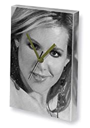 ABI TITMUSS - Canvas Clock (LARGE A3 - Signed by the Artist) #js001