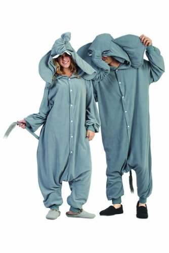 Adult Peanut the Elephant Costume Pajamas